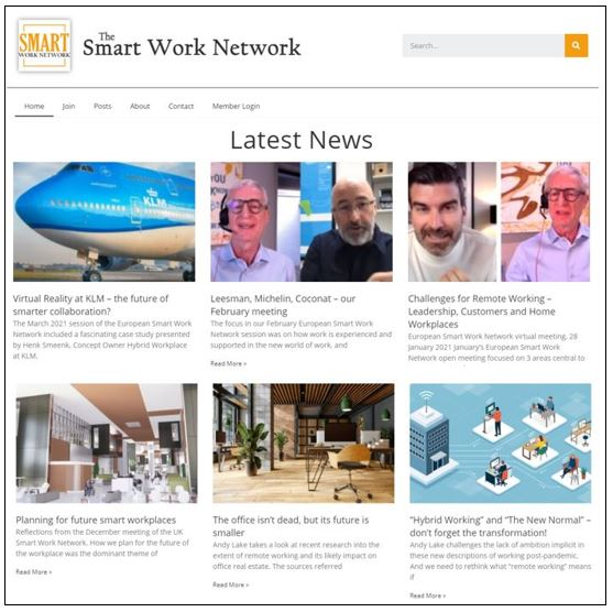 The Smart Work Network – sharing experience and ideas on Smart Working