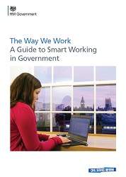 Cover of the 2014 Civil Service guide to Smart Working